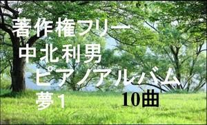 中北利男 ピアノアルバム 夢1