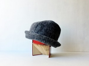 HELMA HAT | HINADORI WOOL GRAY【M】