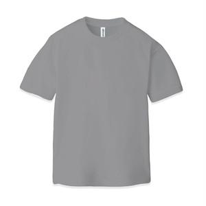 ドライ クルーネックTシャツ(半袖)グレー