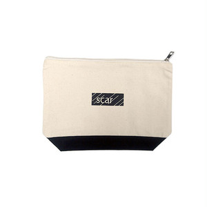 scar /////// BLACKBOX DAILY POUCH (Medium) (Natural / Black)