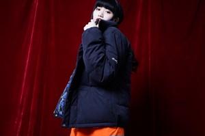 [予約商品]EFFECTEN(エフェクテン) 'original hibiscus'down jaket