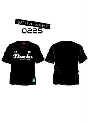 0225 スタンダード ロゴ プラTシャツ ブラック(予約販売商品)                                 ※ご注文後約3週間後に発送商品※