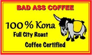 100% Kona Coffee (100%コナコーヒー) ハワイアンコーヒー・フレーバーコーヒー・コナコーヒー・バッドアスコーヒー