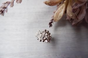 Lace ring「シルバー」