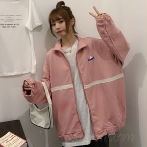 【アウター】ファッション長袖スタンドネックジッパージャケット50580338