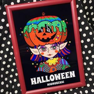 【ハロウィン限定】A4ポスター(ハロウィンサイン付き)