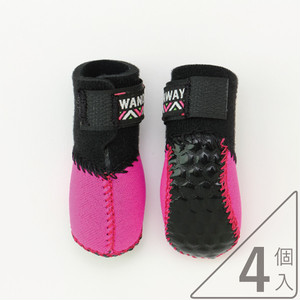 【靴】Fuka Fuka Fit Dog Boots(4個入)【小型犬用】