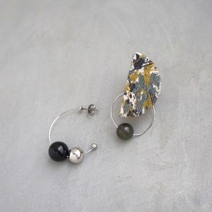 pierced earrings C-P05/earrings C-E05<silver>