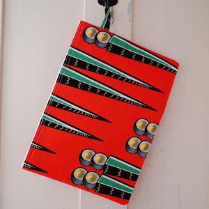 アフリカンプリント ノートパソコンケース green needle