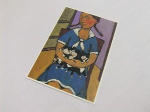 CATACANA*[ポストカード] ALEXANDER SOKHT -Girl With Kittens-