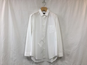 "semoh""gather shirt white"""