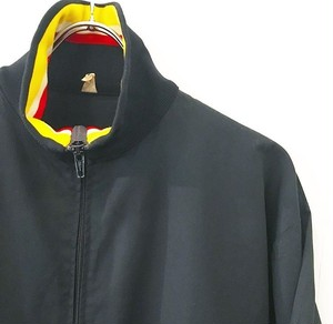 Unknown : euro high-neck zip blouson (used)