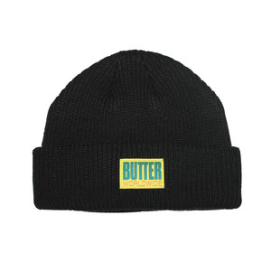 BUTTER GOODS WFARFIE BEANIE BLACK