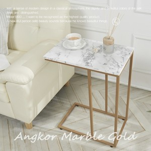 marble side table 2colors / マーブル サイドテーブル 椅子 大理石 韓国 北欧