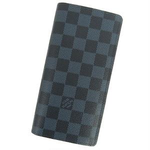 ルイヴィトン 長財布 ダミエ・コバルト ポルトフォイユ・ブラザ N63212 LOUIS VUITTON ヴィトン 財布 メンズ