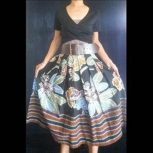 SK-038 オリエンタル花柄スカート