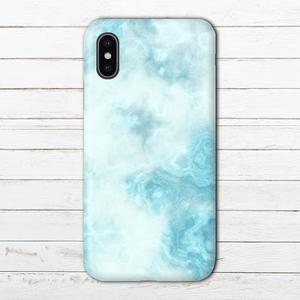 #000-035 iPhoneケース スマホケース iPhoneXS 大理石柄 セール かわいい Xperia iPhone5/6/6s/7/8 おしゃれ マーブル柄 GALAXY ARROWS AQUOS タイトル:marble blue