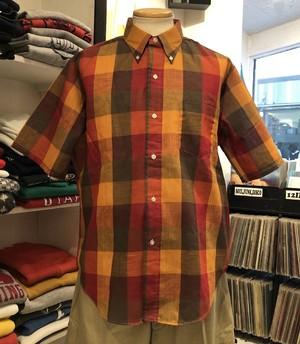 """60's-70's Deadstock """"TOWNCRAFT"""" B.D shirt."""