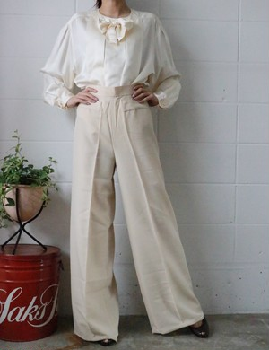 Yves Saint laurent deadstock wide pants