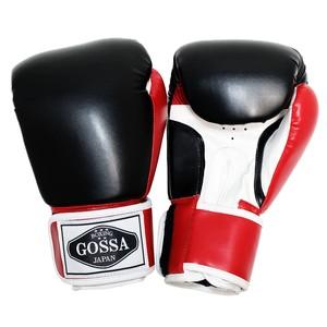 GOSSA ボクシンググローブ 【ブラック&レッド】