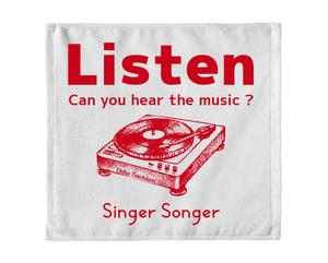 Singer Songer Listen タオル (レッド)