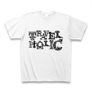 Tシャツ Travelholic:ホワイト