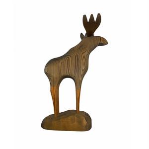 SA364 木の鹿の置物