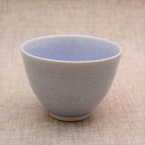 結晶釉飯碗(b)[Aqua]