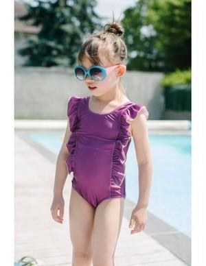 【20SS】ゾジオ(ZOZIO) Emmaswimwear[S / M / L ]violet 水着 スイムスーツ