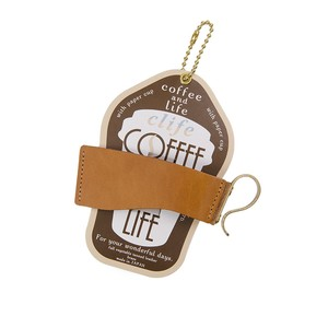 Clife coffee and life カップホルダー CAMEL