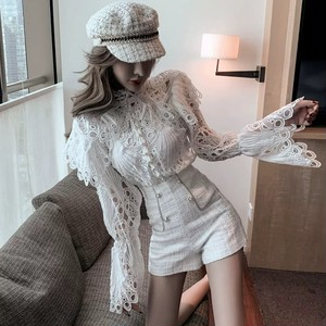 total lace elegant blouse
