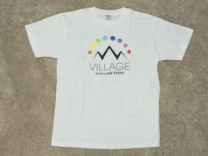 ★税込送料無料★ 2016.小丸山×Village記念マウンテンロゴTシャツ ホワイト(BPあり)