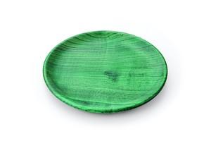 SS-175 栓6.5 パン皿 Colorful グリーン