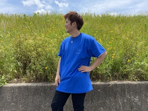 Human graphics Logo T Chill out Blue