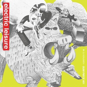 DJ KENJIMEN - electric leisure (MixCD)