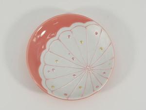 淡紅花 まめ皿