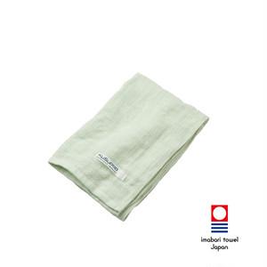 KuSu POP paletone 3重ガーゼフェイスタオル/グリーン