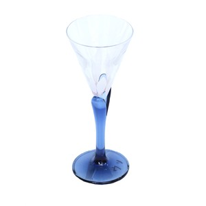 うそみたいなコップ (白い花びらのグラス) 【1点モノ】