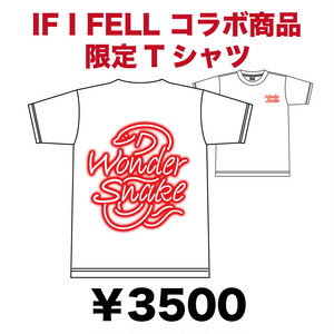 WONDER SNAKE x IF I FELL コラボTシャツ