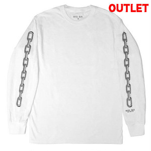【アウトレット】HOTEL BLUE CHAIN L/S TEE WHITE サイズM