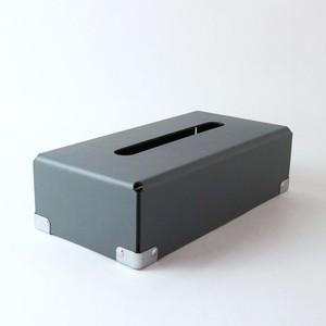 concrete craft (コンクリートクラフト)BENT Tissue box グレー W12,5 × D25 × H7cm パスコ ティッシュボックス 収納 Craft One