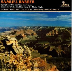 [中古CD] バーバー:交響曲第1番 他 メシャム&ロンドン交響楽団