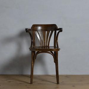 Bentwood Arm Chair / ベントウッド アームチェア【B】〈ダイニングチェア・デスクチェア・曲木・トーネット・THONET・アンティーク〉112294
