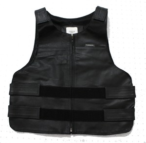 PHANTOM NYC / Leather Bullet Proof Leather Vest ファントム ニューヨーク レザー レプリカ 防弾ベスト 通販 MADE IN NYC