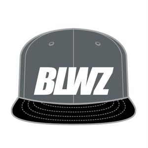 BLWZ snap back cap CHARCOALxBLACK