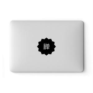 【値下げ】SkinAT 禅 MacBook専用デザインスキンシール ステッカー