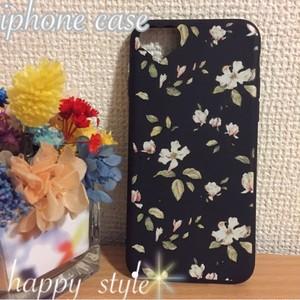 iPhone7ソフトケース 花柄 Flower