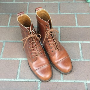 Ralph Lauren Lace up Boots / Made in ENGLAND / ラルフローレン レースアップ ブーツ