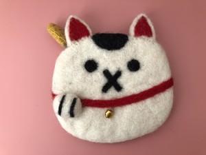 <福を呼び込む>招き猫ポーチ
