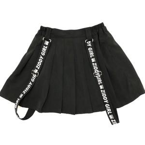 ZIDDY ジディー サスペンダープリーツインナーパンツ付きスカート 1230-305269
